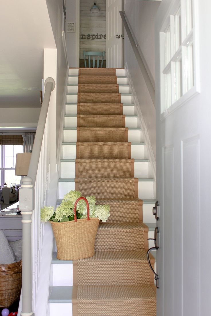 Best 25 Painted Stairs Ideas On Pinterest Stairs Paint Stairs With Country Stair Tread Rugs (View 15 of 20)