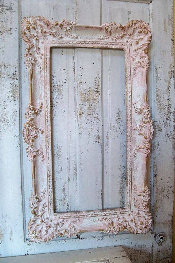Best 25+ Pink Framed Mirrors Ideas On Pinterest | Purple Framed Pertaining To Large Pink Mirrors (#18 of 30)