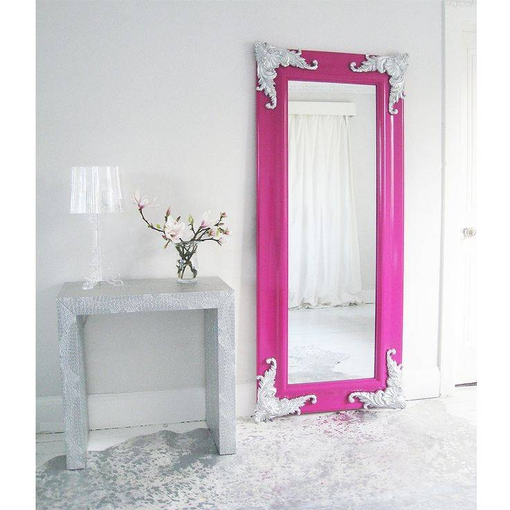 Best 25+ Pink Full Length Mirrors Ideas On Pinterest | Grey Full For Full Length French Mirrors (#12 of 20)