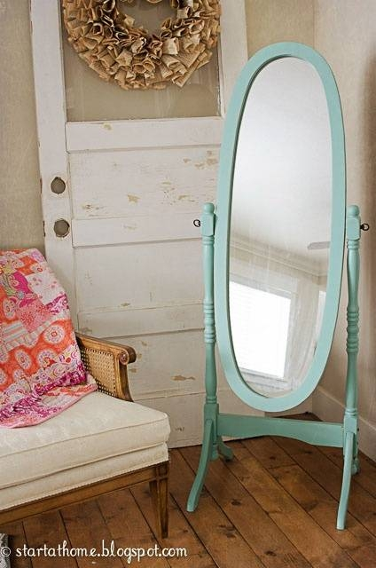 Best 25+ Pink Full Length Mirrors Ideas On Pinterest | Grey Full Regarding Full Length Vintage Standing Mirrors (#12 of 20)