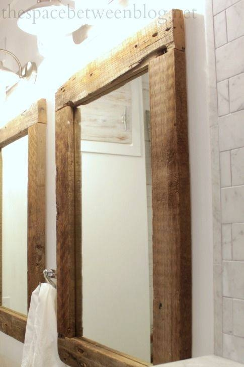 Best 25+ Reclaimed Wood Mirror Ideas Only On Pinterest | Pallet With Distressed Framed Mirrors (#17 of 30)