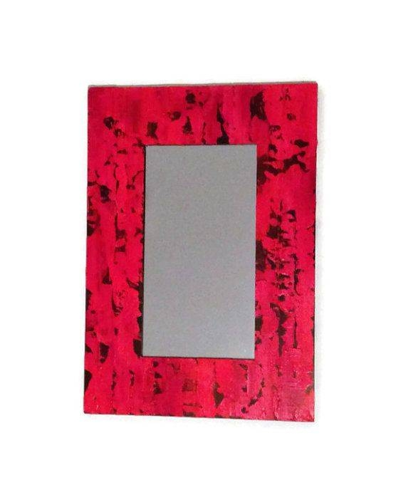 Best 25+ Red Mirror Ideas Only On Pinterest | Cat Sunglasses, Cute Inside Red Wall Mirrors (#6 of 30)