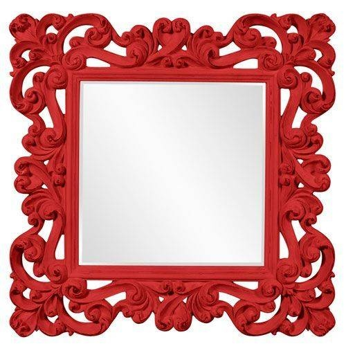 Best 25+ Red Mirror Ideas Only On Pinterest | Cat Sunglasses, Cute Pertaining To Red Wall Mirrors (#8 of 30)