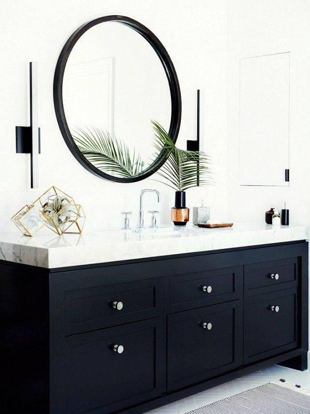 Best 25+ Round Bathroom Mirror Ideas On Pinterest | Minimal Within Large Black Round Mirrors (View 27 of 30)
