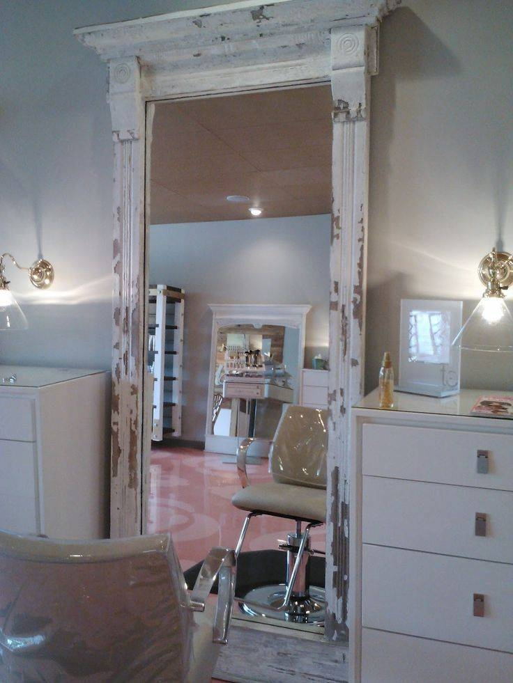 Best 25+ Rustic Full Length Mirror Ideas On Pinterest | Rustic Inside Shabby Chic Long Mirrors (#12 of 30)