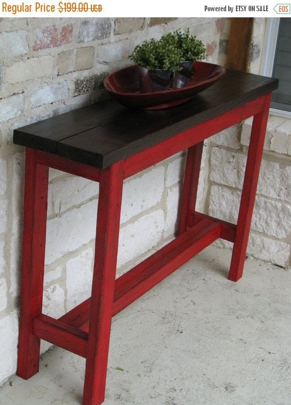 Best 25 Rustic Sofa Tables Ideas On Pinterest Natural In Patio Sofa Tables (#7 of 15)