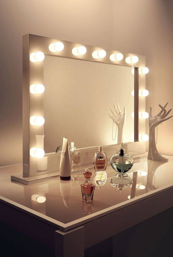 Best 25+ Schminkspiegel Beleuchtet Ideas Only On Pinterest Intended For Illuminated Dressing Table Mirrors (#10 of 20)