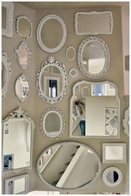 Best 25+ Shabby Chic Frames Ideas On Pinterest | Shabby Chic With Regard To Shabby Chic Mirrors With Shelf (#19 of 30)
