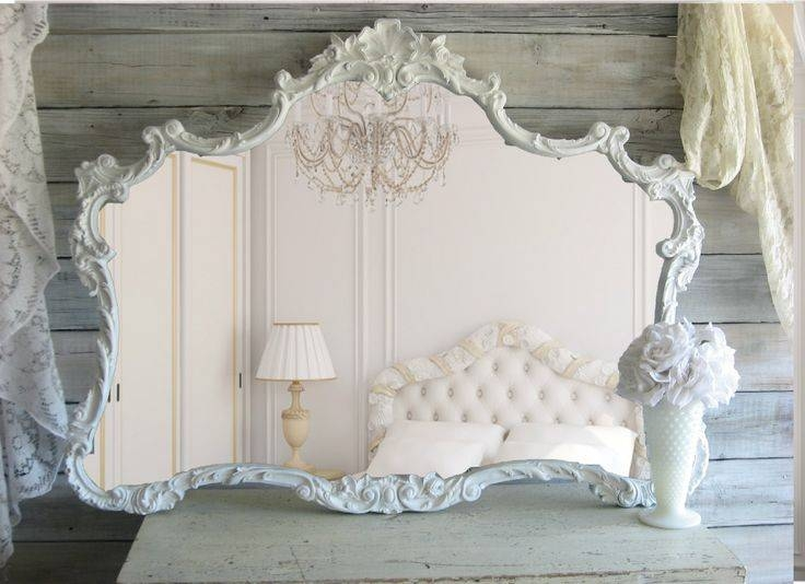 Best 25+ Shabby Chic Frames Ideas On Pinterest | Shabby Chic With Regard To White Large Shabby Chic Mirrors (#15 of 30)