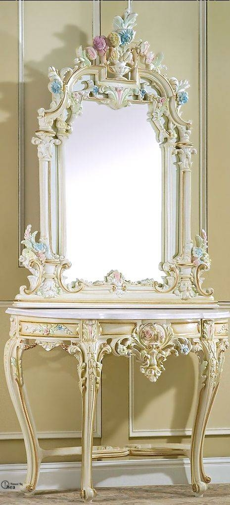 Best 25+ Shabby Chic Mirror Ideas On Pinterest | Shaby Chic For French Chic Mirrors (View 21 of 30)