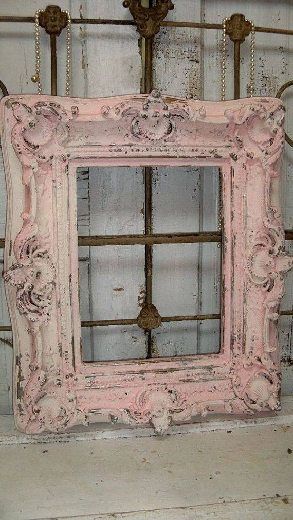 Best 25+ Shabby Chic Mirror Ideas On Pinterest | Shaby Chic Intended For Shabby Chic White Distressed Mirrors (#16 of 30)