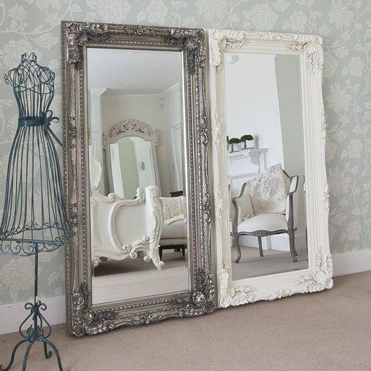 Popular Photo of White Shabby Chic Mirrors