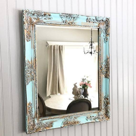 Best 25+ Shabby Chic Mirror Ideas On Pinterest | Shaby Chic Regarding Gold Shabby Chic Mirrors (#6 of 15)