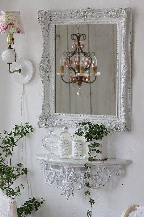 Best 25+ Shabby Chic Mirror Ideas On Pinterest | Shaby Chic Throughout Shabby Chic White Mirrors (#15 of 30)
