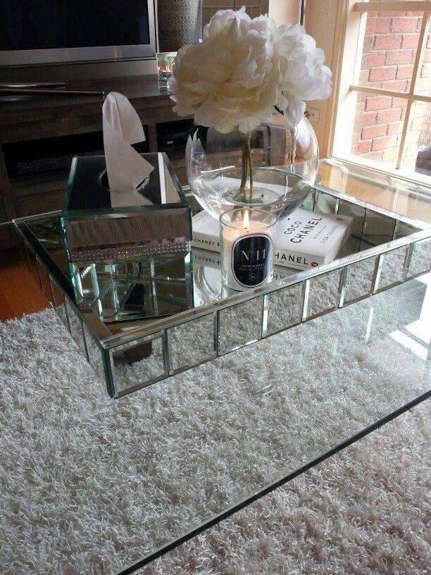 Best 25+ Silver Coffee Table Ideas Only On Pinterest | Gold Glass Intended For Occasional Tables Mirrors (#15 of 30)