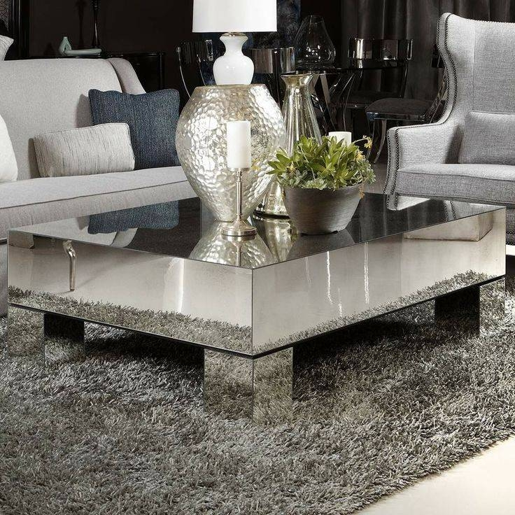 Best 25+ Silver Coffee Table Ideas Only On Pinterest | Gold Glass Within Occasional Tables Mirrors (#16 of 30)