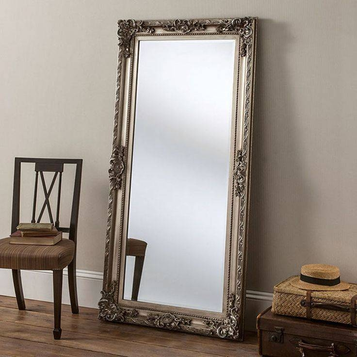 20 best collection of antique full length wall mirrors. Black Bedroom Furniture Sets. Home Design Ideas