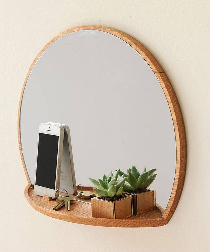 Funky wall mirror