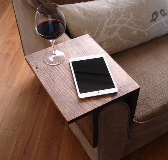 Best 25 Sofa Side Table Ideas That You Will Like On Pinterest For Sofa Drink Tables (#7 of 15)