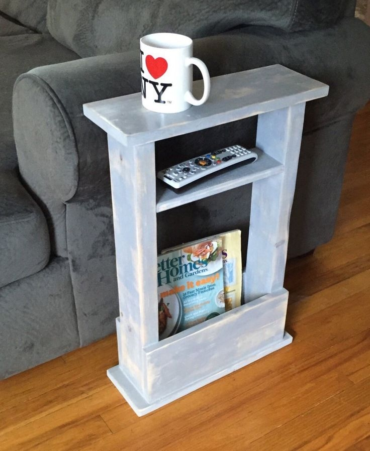 Best 25 Sofa Side Table Ideas That You Will Like On Pinterest Within Sofa Drink Tables (View 8 of 15)