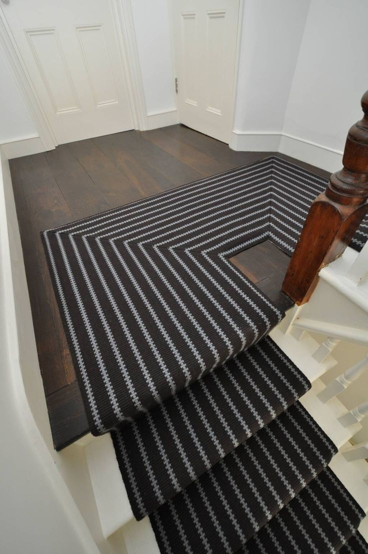 Best 25 Carpet Stair Runners Ideas On Pinterest: 20 Best Collection Of Striped Runners For Hallways