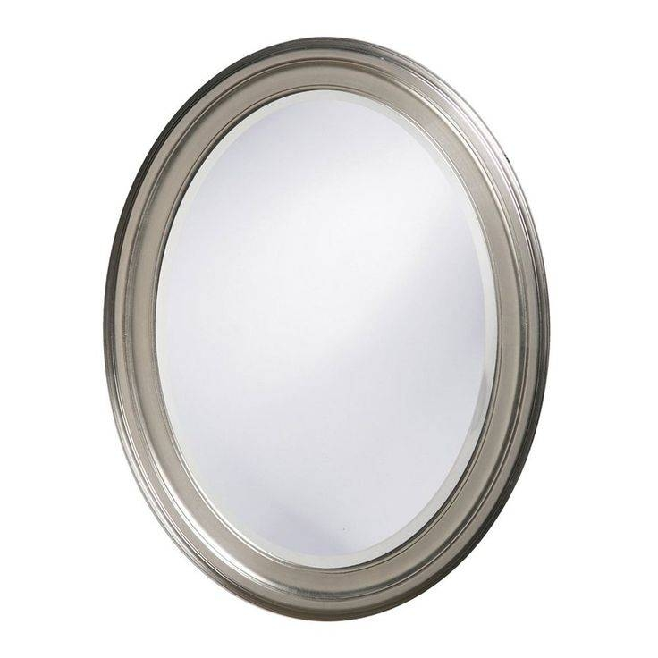 Popular Photo of Oval Mirrors For Walls