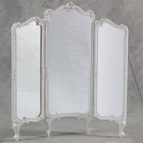 Best 25+ Tri Fold Mirror Ideas On Pinterest | Dressing Room Mirror Within Antique Full Length Mirrors (#7 of 20)