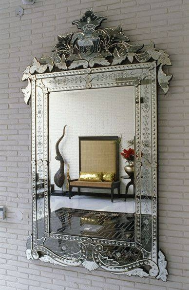 Best 25+ Venetian Mirrors Ideas On Pinterest | Elegant Glam Powder Inside Long Venetian Mirrors (#6 of 20)