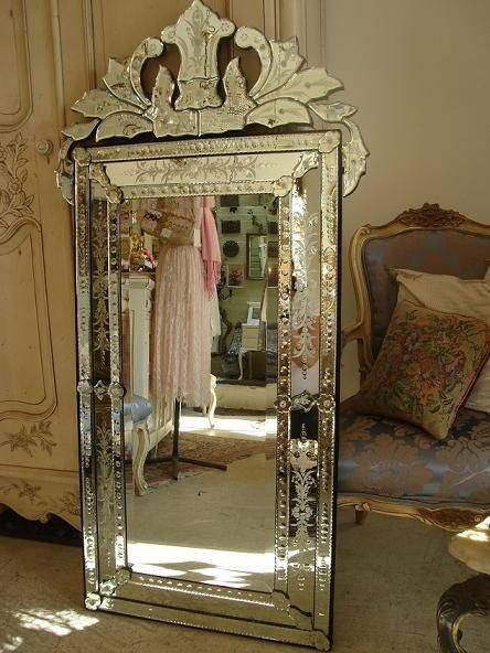 Popular Photo of Long Venetian Mirrors