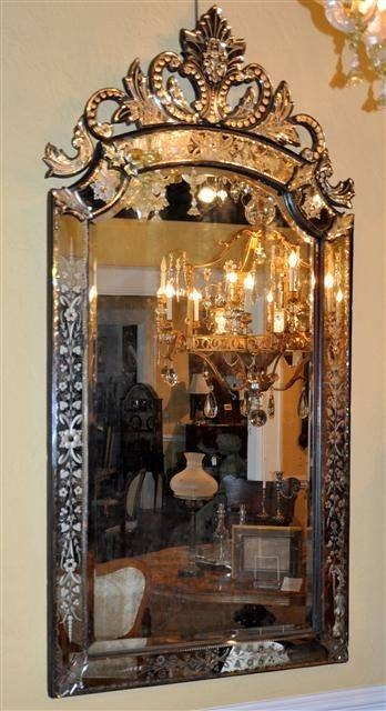 Best 25+ Venetian Mirrors Ideas On Pinterest | Elegant Glam Powder Intended For Venetian Antique Mirrors (View 12 of 20)