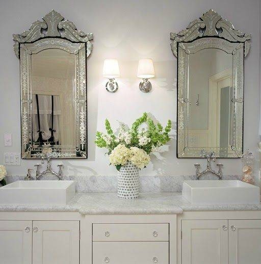 Best 25+ Venetian Mirrors Ideas On Pinterest | Elegant Glam Powder Pertaining To Venetian Bathroom Mirrors (#4 of 20)