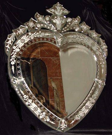 Best 25+ Venetian Mirrors Ideas On Pinterest | Elegant Glam Powder Throughout Venetian Heart Mirrors (#12 of 20)