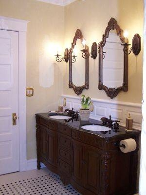 Best 25+ Victorian Bathroom Mirrors Ideas On Pinterest | Victorian Pertaining To Victorian Style Mirrors For Bathrooms (View 7 of 20)