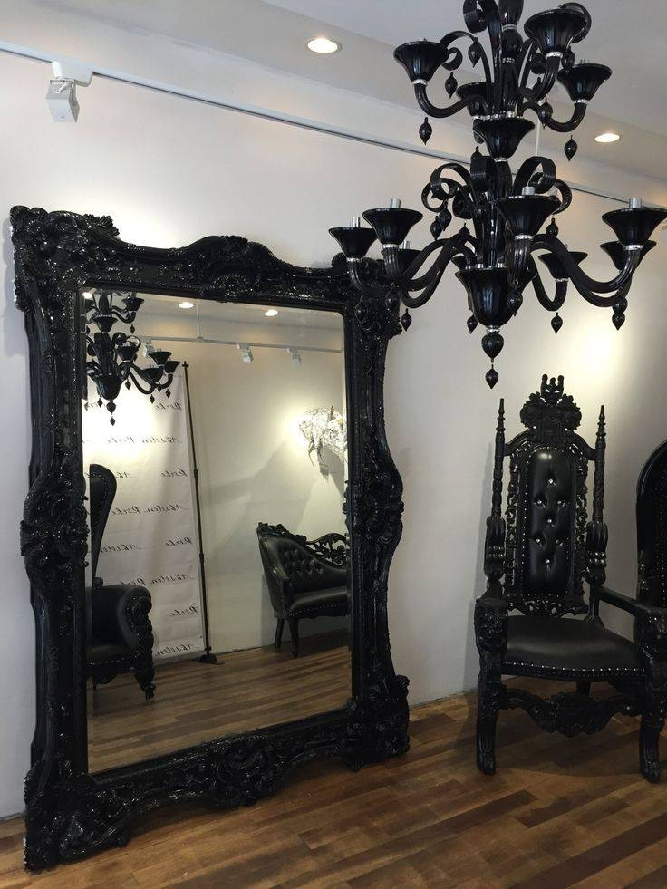 Best 25+ Victorian Mirror Ideas On Pinterest | Victorian Floor Within Black Ornate Mirrors (#10 of 30)