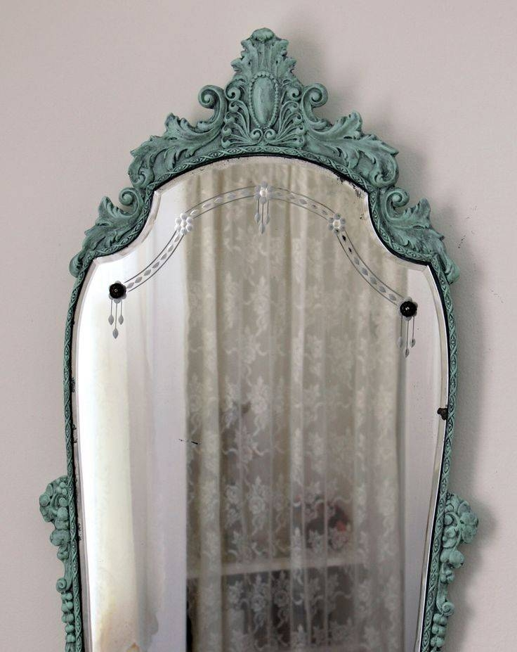 Best 25+ Victorian Mirror Ideas On Pinterest | Victorian Floor Within Large Vintage Mirrors (#11 of 20)