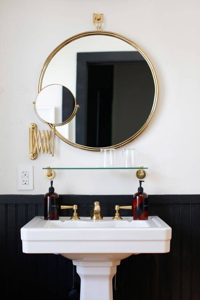 Best 25+ Vintage Bathroom Mirrors Ideas On Pinterest | Basement Regarding Hotel Inspired Mirrors (#10 of 15)