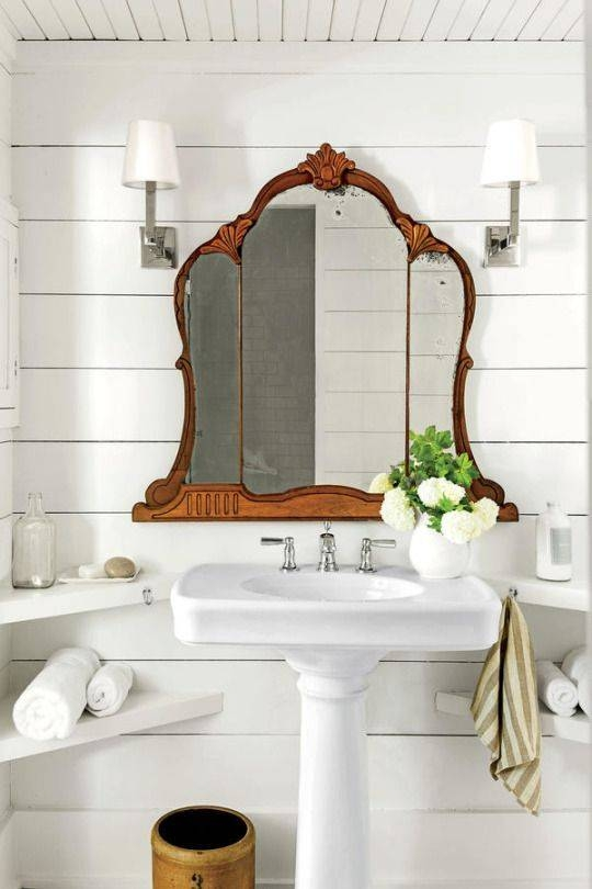Best 25+ Vintage Bathroom Mirrors Ideas On Pinterest | Basement With Antique Bathroom Mirrors (View 5 of 20)
