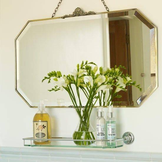 Popular Photo of Antique Bathroom Mirrors