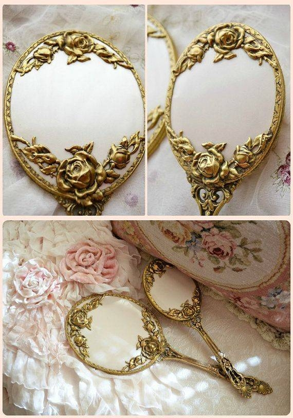 Best 25+ Vintage Mirrors Ideas On Pinterest | Beautiful Mirrors Inside Small Vintage Mirrors (#16 of 30)