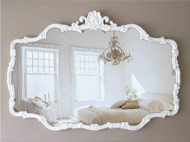 Best 25+ Vintage Mirrors Ideas On Pinterest | Beautiful Mirrors Regarding White Shabby Chic Wall Mirrors (#11 of 20)