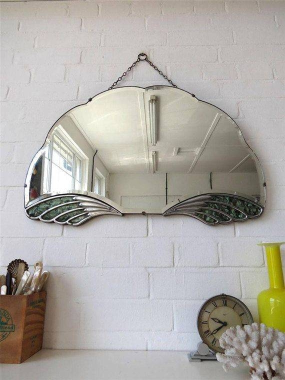 Best 25+ Vintage Mirrors Ideas On Pinterest | Beautiful Mirrors Within Large Art Deco Wall Mirrors (#16 of 20)