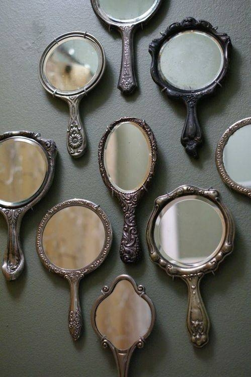 Popular Photo of Small Vintage Mirrors