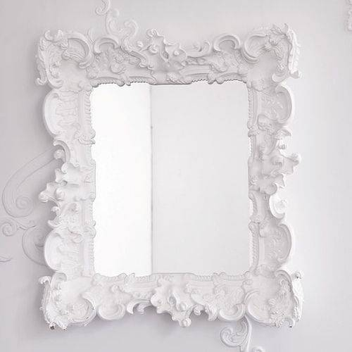 Best 25+ White Framed Mirrors Ideas On Pinterest | Framed Mirrors In Baroque White Mirrors (#9 of 20)