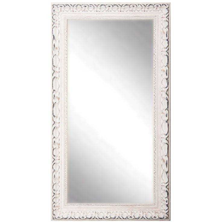 Best 25+ White Full Length Mirrors Ideas Only On Pinterest | Full With Regard To Full Length French Mirrors (#13 of 20)