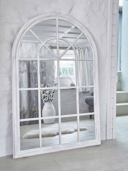 Best 25+ Window Mirror Ideas On Pinterest | Cottage Framed Mirrors Inside White Arch Mirrors (View 3 of 30)