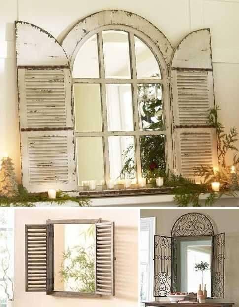 Best 25+ Window Mirror Ideas On Pinterest | Cottage Framed Mirrors Inside Window Mirrors (#8 of 30)