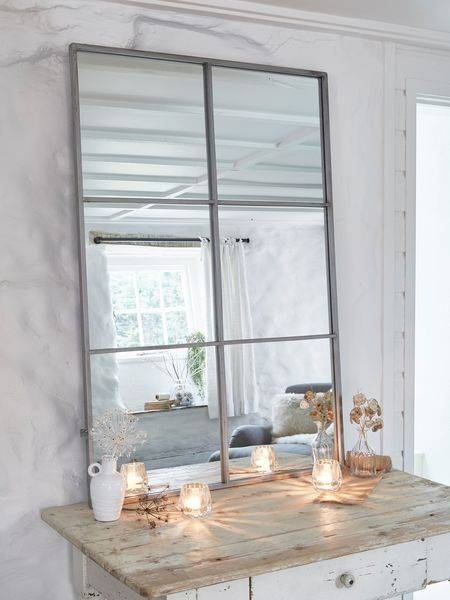 Best 25+ Window Mirror Ideas On Pinterest | Cottage Framed Mirrors With Distressed Silver Mirrors (#11 of 20)