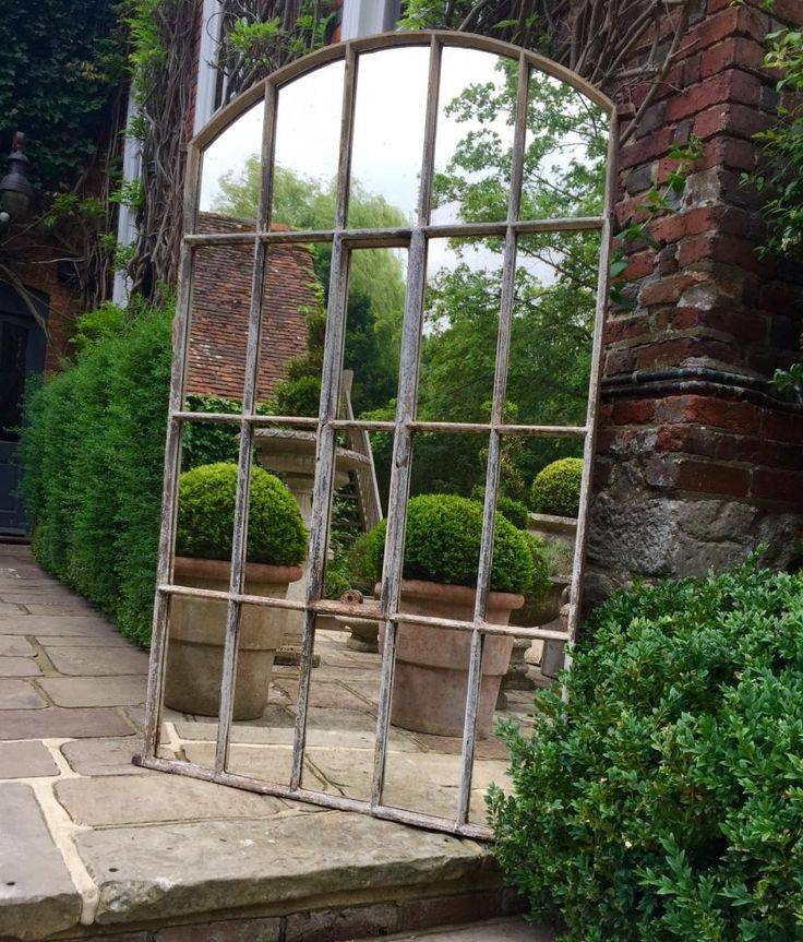 Best 25+ Window Mirror Ideas On Pinterest | Cottage Framed Mirrors With Outside Garden Mirrors (#11 of 15)