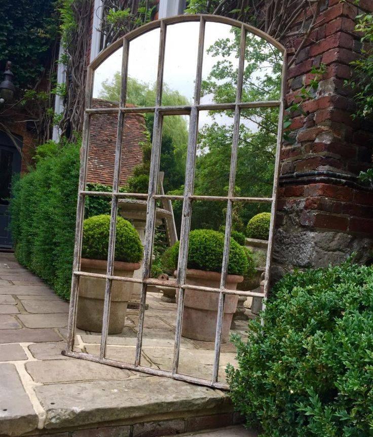 Best 25+ Window Mirror Ideas On Pinterest   Cottage Framed Mirrors With Regard To Metal Garden Mirrors (#15 of 30)