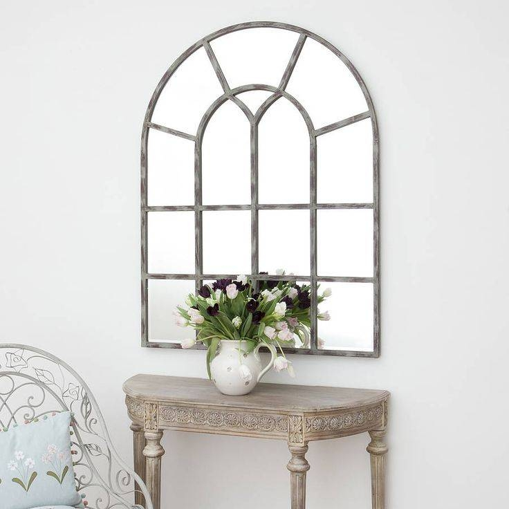 Best 25+ Window Mirror Ideas On Pinterest | Cottage Framed Mirrors With White Arched Window Mirrors (#15 of 20)